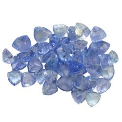 14 ctw Triangle Mixed Tanzanite Parcel