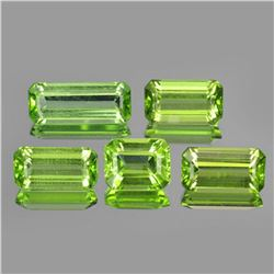 Natural Apple Green Peridot 8.30 carats