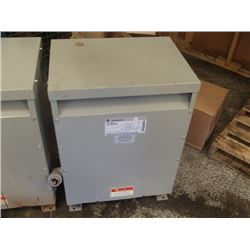 GE 45KVA Transformer, Cat. No.: 9T23B3883