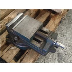 "6"" Machining Vise on 360 Degree Swivel Base, Overall: 17"" x 10"" x 5.5"""