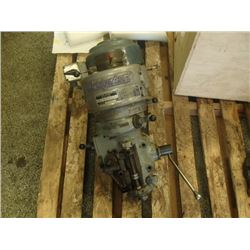 Bridgeport Milling Head with 1HP Motor, S/N: J-9376