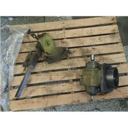 Cincinnati No. 2 Cutter Grinder Spindle/Tool Holder Assembly