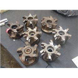 "Misc Indexable 4"" Face Mills"