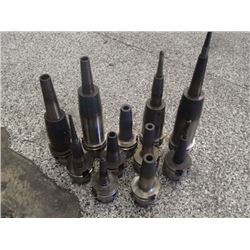 HSK63A Command Shrink Fit End Mill Holders, Various Capacities