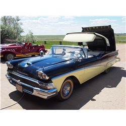 1958 Retractable Ford Skyliner