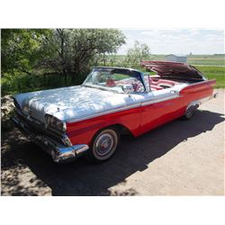 1959 Retractable Ford Skyliner