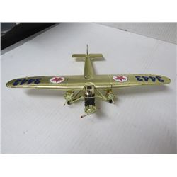 "Texaco Collector Model Plane Wing span 12¼"", 8½ L x 2"" h"