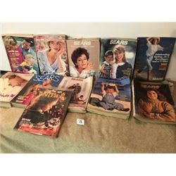 11Asst SEARS  catalogues 2  90,91,92,94, 2  95,  2  96