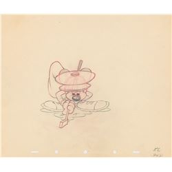 Mickey Mouse production drawing from Canine Caddy