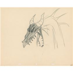 Maleficent production drawing from Sleeping Beauty