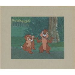 Chip 'n' Dale production cels from Disneyland TV Show