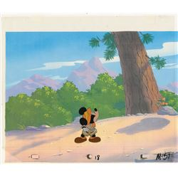 Mickey Mouse production cel