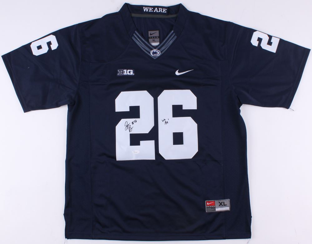 93e7ce8c4 Image 1   Saquon Barkley Signed Penn State Nittany Lions Jersey Inscribed
