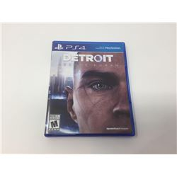 PS4 Detroit Become Human Game