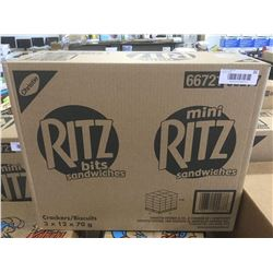 Case of Ritz Bits Sandwiches (3 x 12 x 70g)