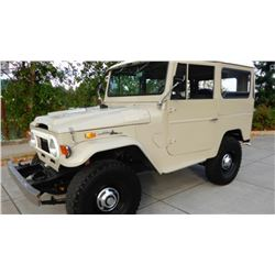 1971 Toyota Land Cruiser 4x4 Restored-Time Lot Sells Friday 4:00
