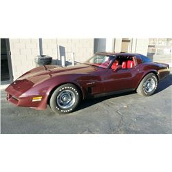 1982 Chevrolet Corvette T-Top Coupe