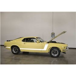 1970 Ford Mustang Boss 302 Documented Marti Report