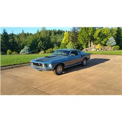 1969 Ford Cobra Jet Mustang---Time Lot Selling Friday 2:30