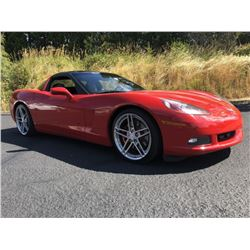 2007 Chevrolet Corvette C6 Coupe