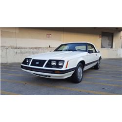 1983 Ford Mustang GLX Convertible