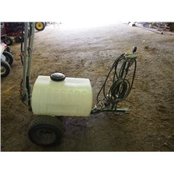 Spray Tech Trailer Type Sprayer W/ Booms