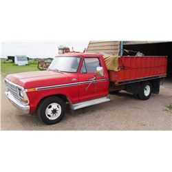 1979 F350 400 Engine, New Tires, 4Spd Standard, 78358 Miles, 12T B&H 11' Box