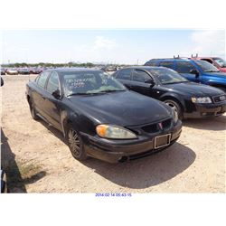 2004 - PONTIAC GRAND AM