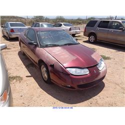 2002 - SATURN ION // SALVAGE TITLE