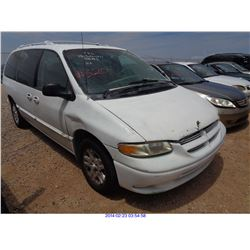 1997 - DODGE GRAND CARAVAN // SALVAGE TITLE