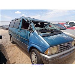 1994 - FORD AEROSTAR // SALVAGE TITLE