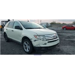2007 - FORD EDGE // SALVAGE TITLE