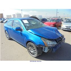 2010 - FORD FOCUS // EXPORT // SALVAGE TITLE