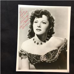 ADRIAN BOOTH SIGNED 8'' X 10'' PHOTOGRAPH