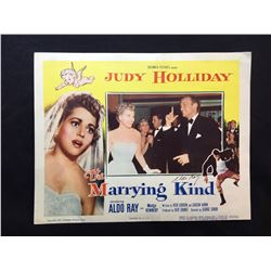 """1952 """"THE MARRYING KIND"""" LOBBY SCENE CARD, SIGNED BY ALDO RAY"""