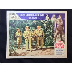 """1962 """"THE SPIRAL ROAD"""" LOBBY SCENE CARD, #8 IN SET, SIGNED BY BURL IVES"""