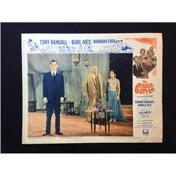 """1964 """"THE BRASS BOTTLE"""" LOBBY SCENE CARD, #8 IN SET, SIGNED BY BURL IVES"""