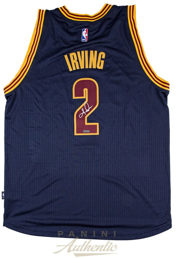 ... where can i buy image 1 kyrie irving signed cavaliers authentic adidas  jersey panini coa 3739a e3568495a