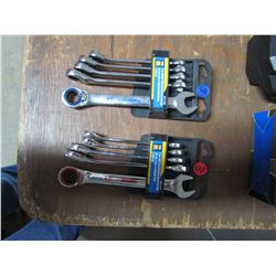 5pc. Metric & 5 pc SAE Ratchet wrenches