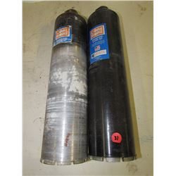 "Core Bore  core bits, 4"" diam. 15"" long"