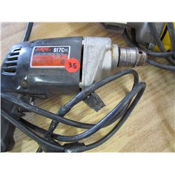 DeWalt tin shearer, Skil elec. Drill, Milwaukee Sawzall