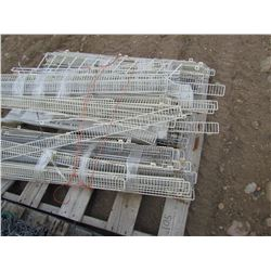 Pallet of ends for display racks