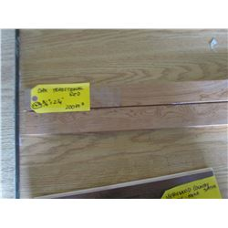 Hardwood Flooring, Oak Traditional Red, 200 sq ft 3¼ & 2¼""