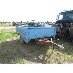 ½ton truck box trailer