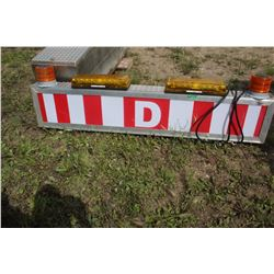 Dangerous Goods Sign - One side needs repair