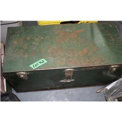 Green Metal Tool Box