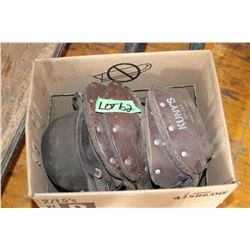 Box of Welders' Knee Pads