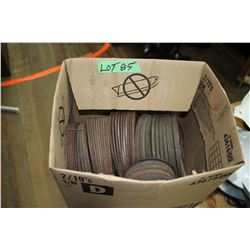 Box of Grinding Wheels (Various Sizes)