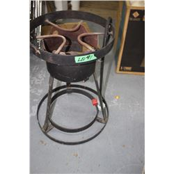 Propane Burner on a Stand