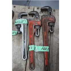 "Rigid Pipe Wrench - 10""; 12"" & 14"""